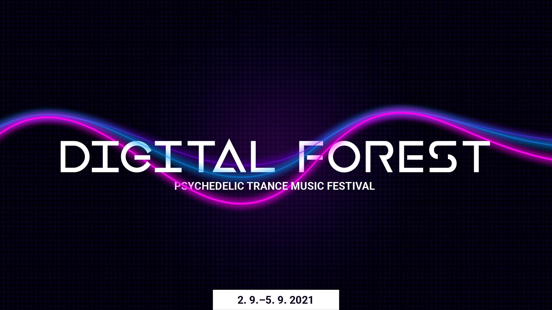 Digital Forest flyer