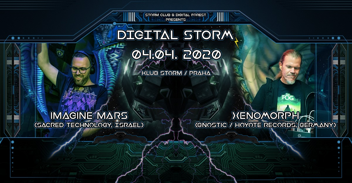 Digital Storm IV flyer