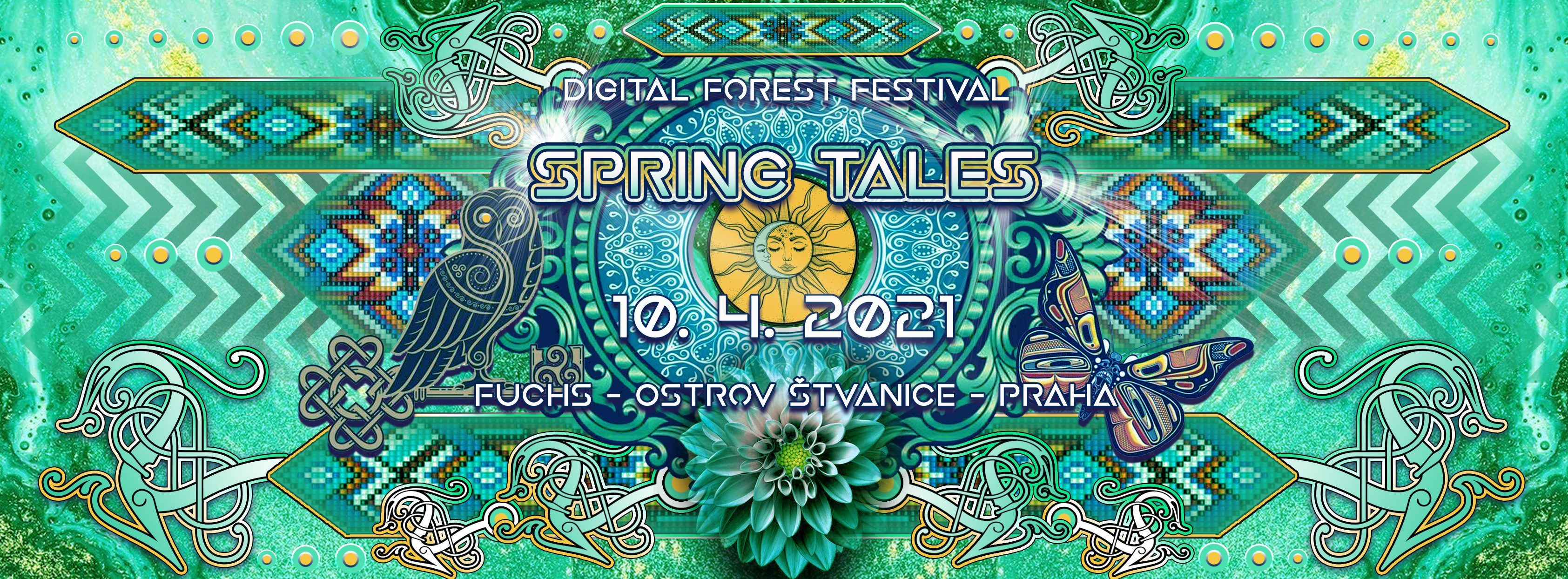 Spring Tales flyer