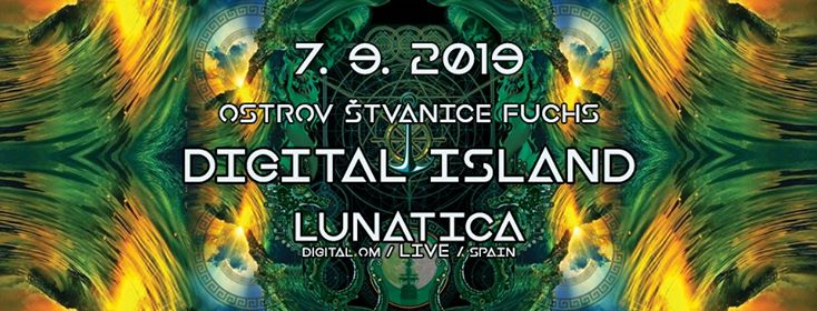 Digital Boat 1964 with Lunatica live flyer