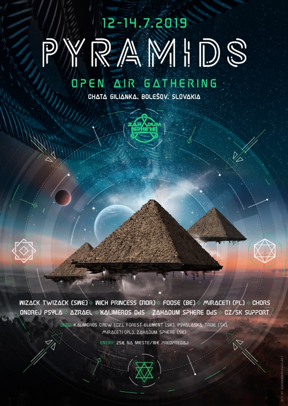 Pyramids - Open Air Gathering flyer